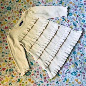 Baby Gap ruffle sweater dress